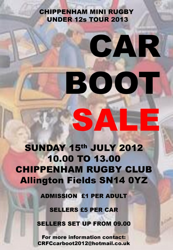 Car Boot Sale Exmouth Sunday