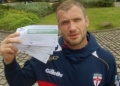 England captain backs community fund-raiser image