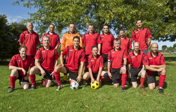 Back Row: Fabian, Lloyd, Scott, Pumpky, Babak, Kev A., Dave