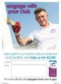Engage with your club and help us win £2500.00 image
