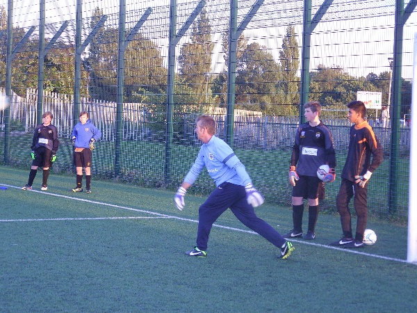 Goalkeeping Coach Development