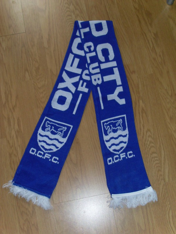 Image: Oxford City scarf