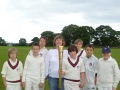 Olympic Torch Comes to Hambrook Cricket Club still