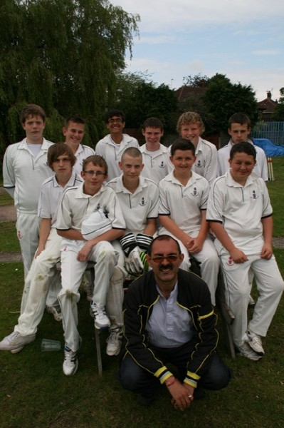 SEASON 2011 UNDER 15'S WITH COACH AND MANAGER RAJ ARORA
