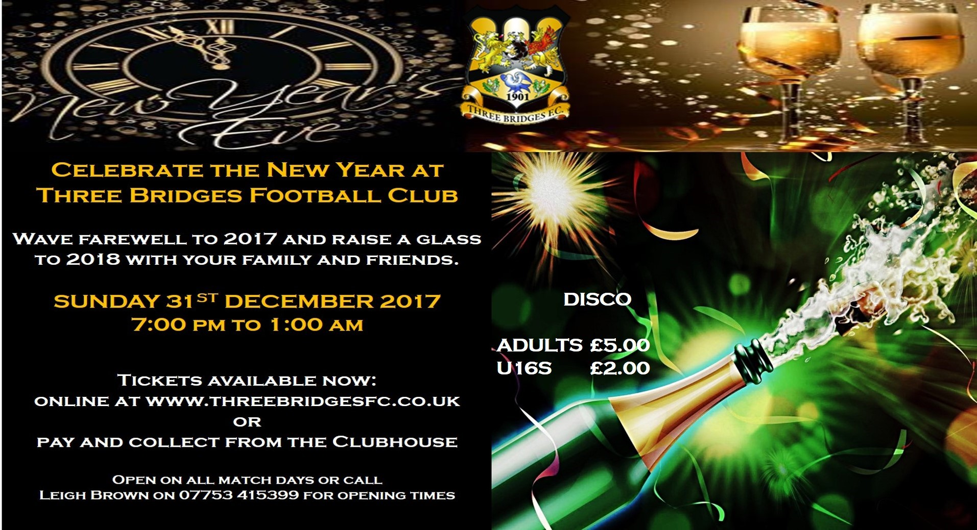 Image: New Year's Eve Party Ticket - U16