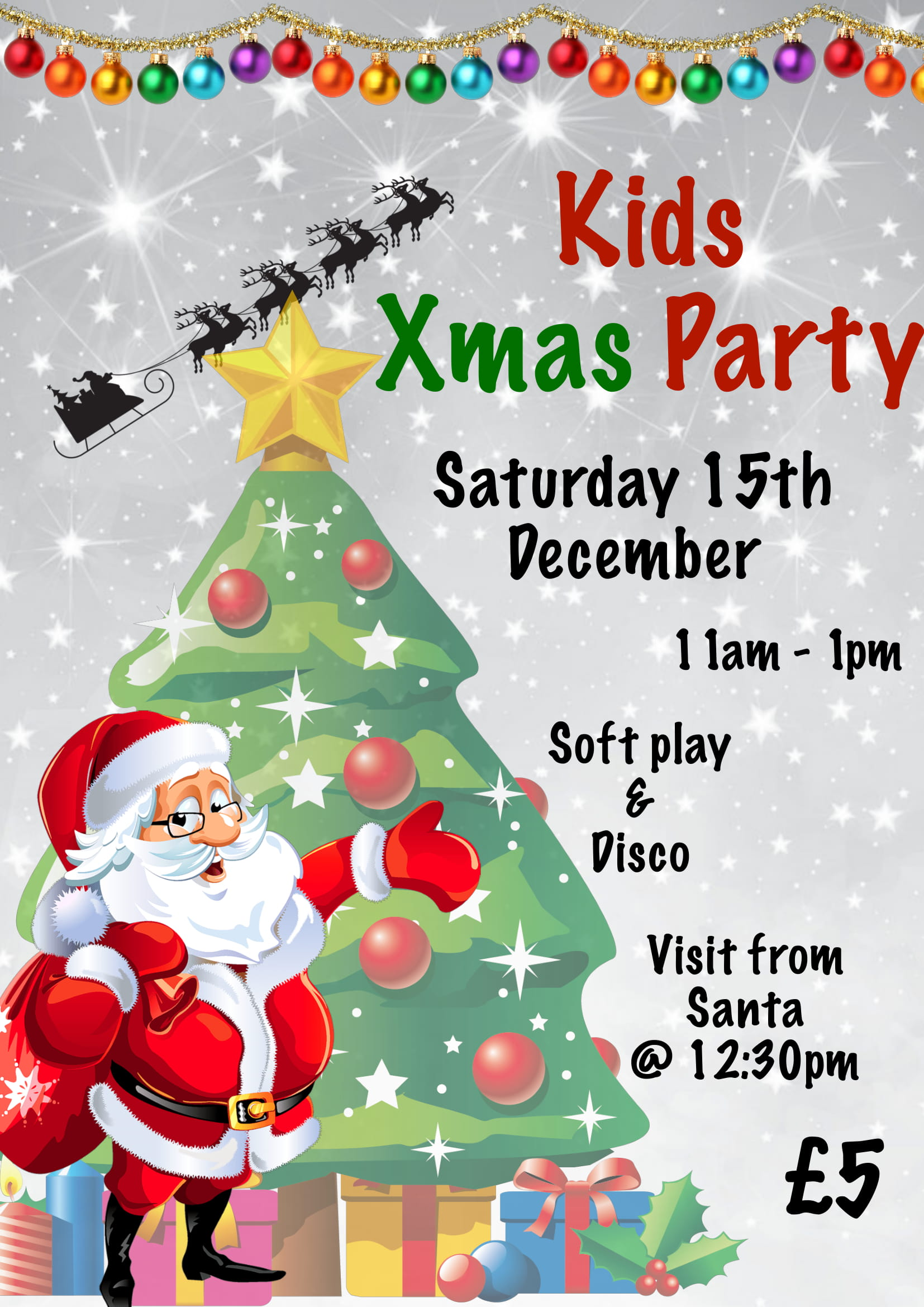 Kid\'s Christmas Party - Five Ways Old Edwardians