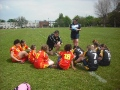 U12 Girls in first Rival 5 series game at Medway on 19th May 2012 still