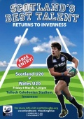 U20 International - Scotland v Wales image