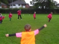 Under 7s Training and pre-match still