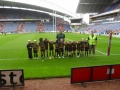 Under 8's playing at Galpharm stadium 2010 still