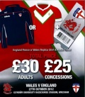 WALES v ENGLAND Offer image