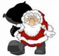STRATHAVEN STRIDERS SANTA RUN SAT 22nd DEC 1PM  image