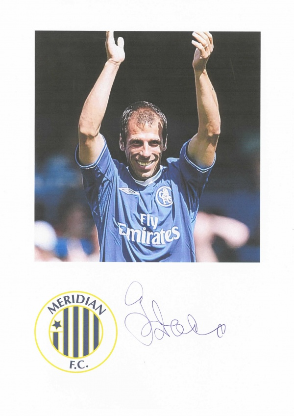 Gianfranco Zola  -  Signed Shirt at the Danson Festival image