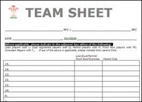 Team Sheets The Pre Season Friendlies North Leeds