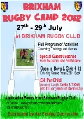 Brixham rugby camp 2012 image