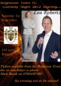 Final few tickets for Comedy Night this Saturday!! image