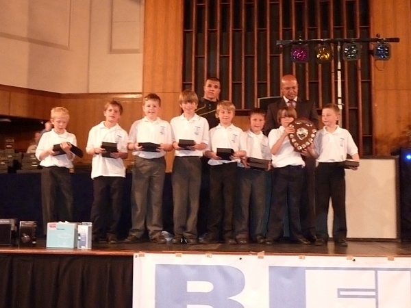 BURTON LEAGUE PRESENTATION EVENING image