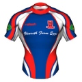 Peebles RFC Kids Alternate Rugby Shirt 2011-12
