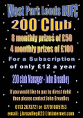 200 Club June Winner image