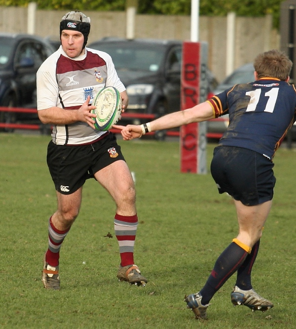 Old Rugby Rules: Brentwood 11 Vs. 15 Old Colfeians