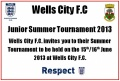 Wells City Junior Summer Tournament 15/16 June 2013