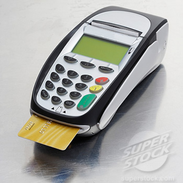 credit card machine on the go