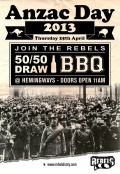 Rebels ANZAC Day Celebration