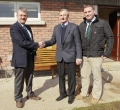 PC Falconer donates Bench still