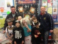 U9's Halloween Bag Packing still