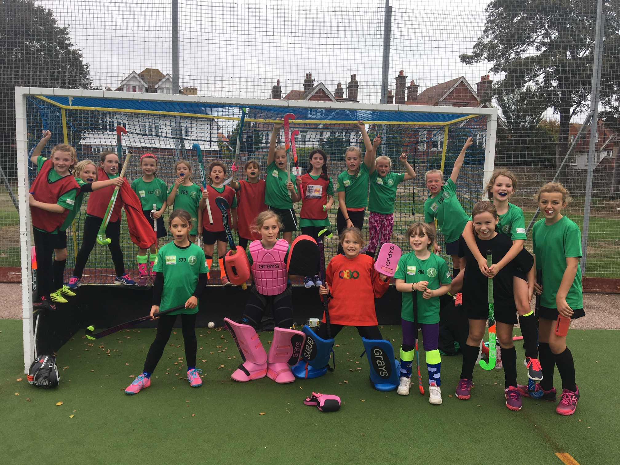 Ron Easton Tournament Vs Lewes Hc U10 Girls Leopards 19 November