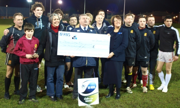 PLRFC - SRU Club of the Month January 2012 image