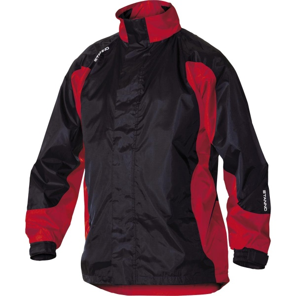 Image: Stanno All Weather Jacket (Black/Red)