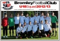 Bromley U18s play local rivals Farnborough Old Boys at The Stadium, Hayes Lane