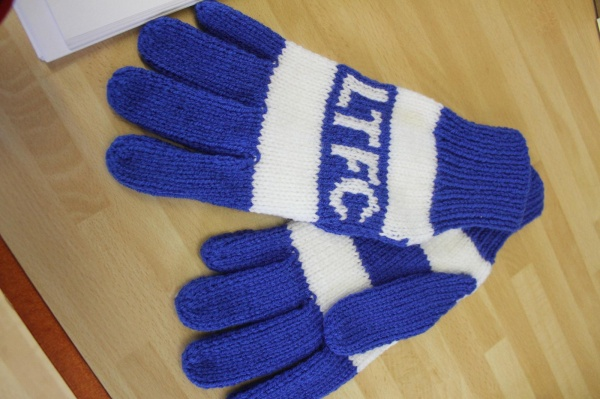 Image: Hand Knitted Wooly Gloves