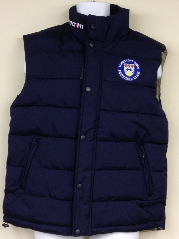 Image: Lowestoft Town Gilet