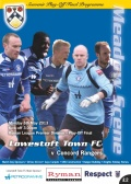 Play off final match day programme