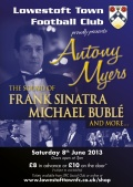 A Night of Sinatra, Buble and more - Saturday 8th June 2013