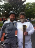 Olympic Torch comes to Durham still