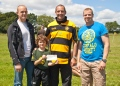 30 Commando make donation to OAKs Rugby image