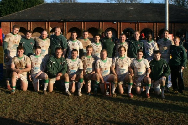Warwickshire 2nd XV Cup Winners 2011/12.