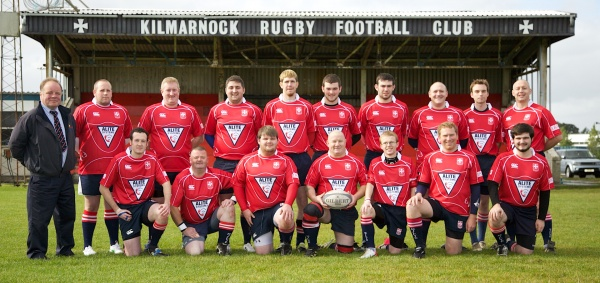 Back Row, Bobby Rab, Paul Dickie, George Campbell, Wan Can, Ian Halbert, Calum Reid, Chris Wright Ken Barr, Glen Higgins, Navid Frater.
