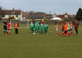 Under 10s v Felixstowe in the Ipswich Open Cup still