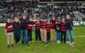 Leicester Tigers Oz U11's lap of honour still