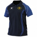 Gilbert Performance Polo Shirt Navy/Royal