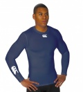 Adult  Cold Long Sleeve Base Layer Top (Navy)