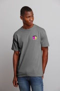 Heavy Cotton Adult T-shirt Charcoal