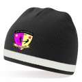 The Nation Beanie Black/White