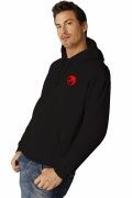 Heavy Blend adult hooded sweatshirt Black