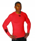 Canterbury Cold Long Sleeve Top Flag Red
