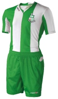 Macron ARAGON set short sleeve Junior Green/White